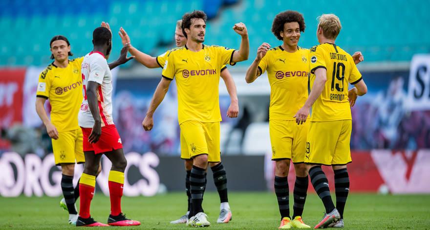Ezüstérmes a Dortmund a Lipcse 2-0-ás legyőzésével!