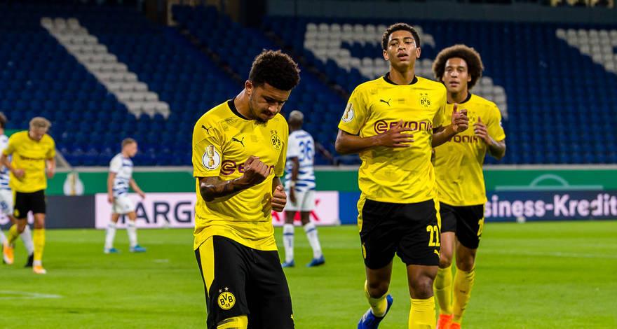 A BVB magabiztosan jutott a Német Kupa második körébe