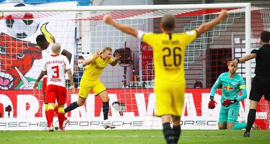 Folytatná jó lipcsei sorozatát a Borussia