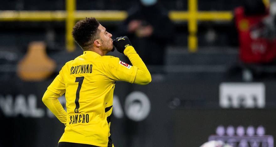 Sancho újabb góllal és gólpasszal jelentkezett