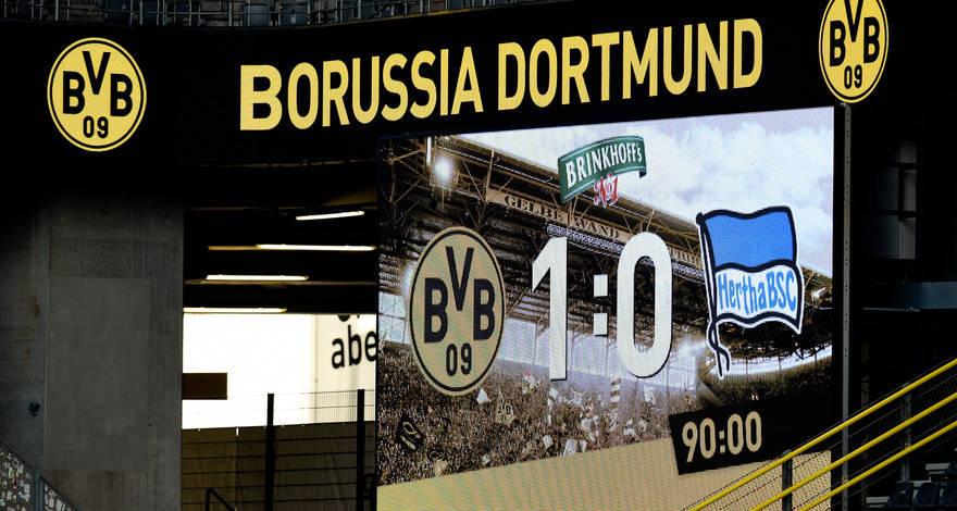 Kétféle cél, egy tét: a Dortmund a Herthát fogadja szombat este a Signal Iduna Parkban