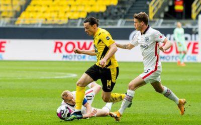 Kései Eintracht-gól döntötte el a találkozót a Sasok javára