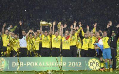 Kilencből négy – negatív a Borussia mérlege a Német Kupa-döntőkben