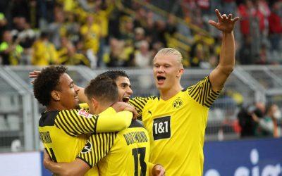3:0, majd 4:2 – hatgólos mérkőzésen nyert a BVB az Union ellen